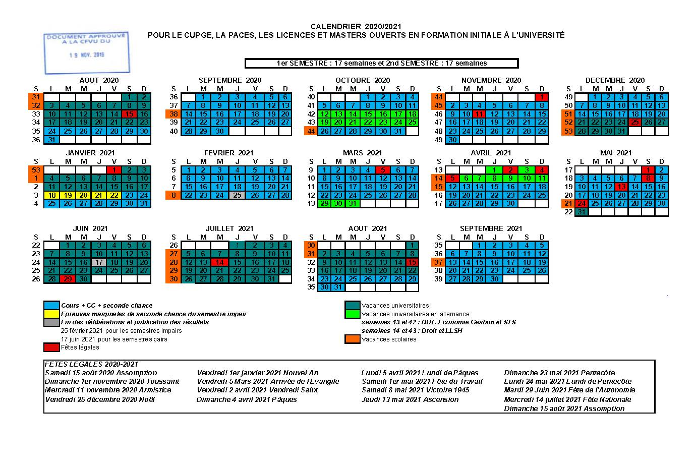 Calendrier may 2021: Calendrier Universitaire Paris 7 2022 2021